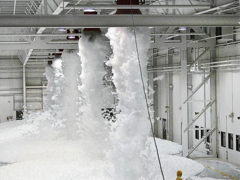 установка автоматической системы пожаротушения